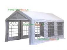 complete set dak en zijwanden partytent 6x3 PE
