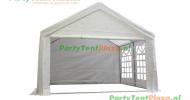 complete set dak en zijwanden partytent 4x4 PE