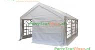 complete set dak en zijwanden partytent 6x4 PE