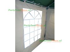 zijwand raamzijde 2m koppelbaar polyester