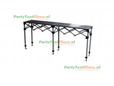 scharniertafel staal - 190x40,5cm