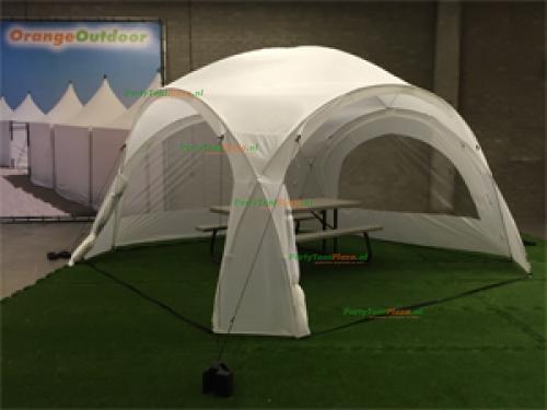 iglo / dome tent 4 m x 4 m