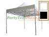 4,5 x 3 Platinum PVC zonder zijwanden (brandvertragend certificaat)