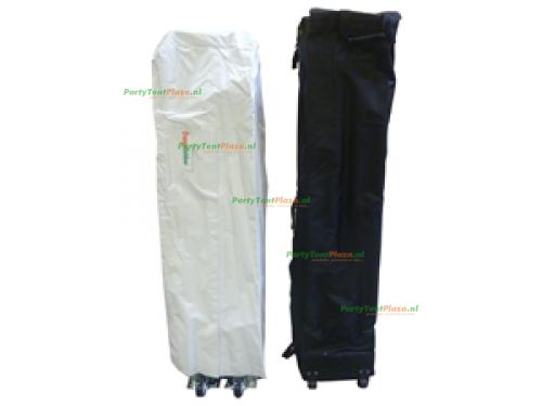 6 x 4 Platinum PVC zonder zijwanden (brandvertragend certificaat)