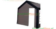 kopse kant 3m met deur polyester