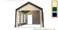 complete set dak en zijwanden partytent 6x3 polyester