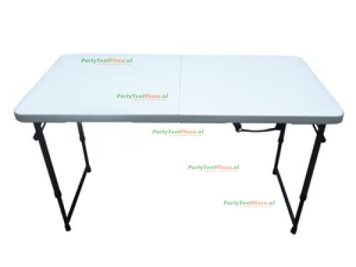 buffettafel 122 cm hoogte verstelbaar