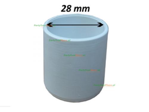 dop t.b.v. statafel - 28 mm
