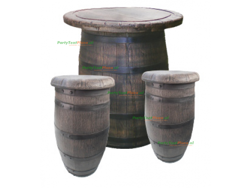 barkruk vat / barrel