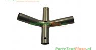 koppelstuk kruis tbv partytent PVC Business